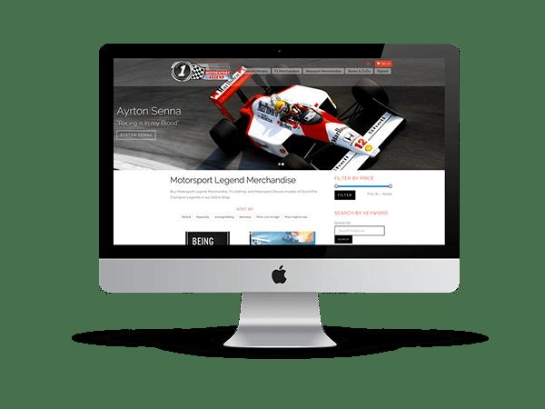 Motorsports Legends Webshop