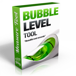 Bubble level measure tool