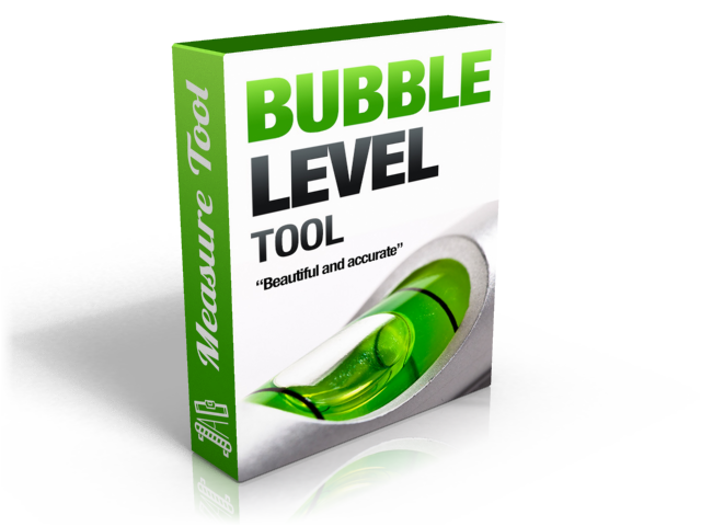 Bubble level measure tool