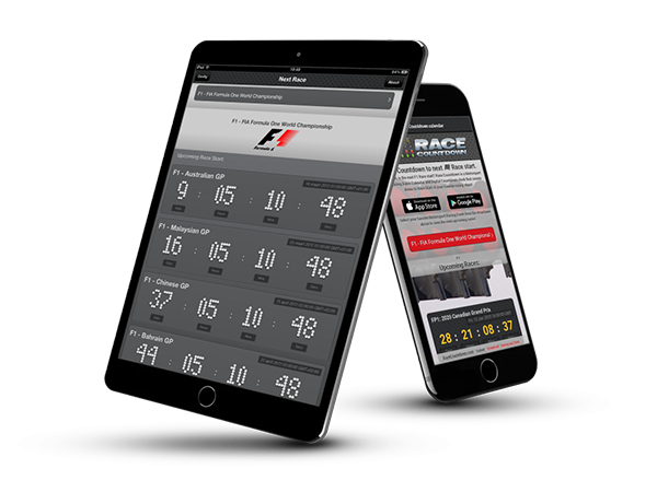 Motorsport Racing Calendar Countdown app