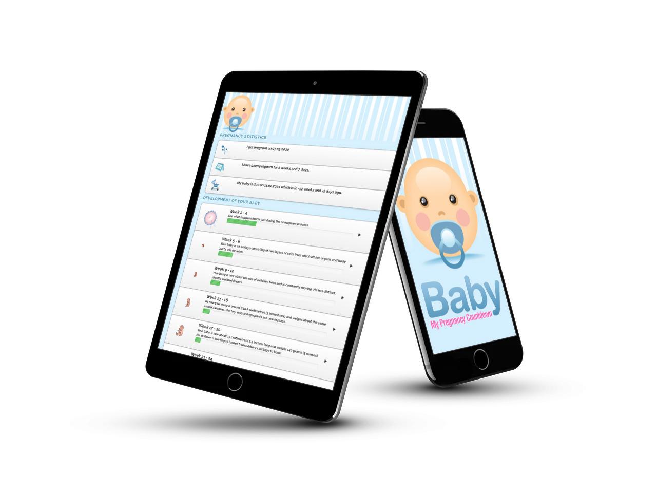 Wordpress baby pregnancy tracker plugin